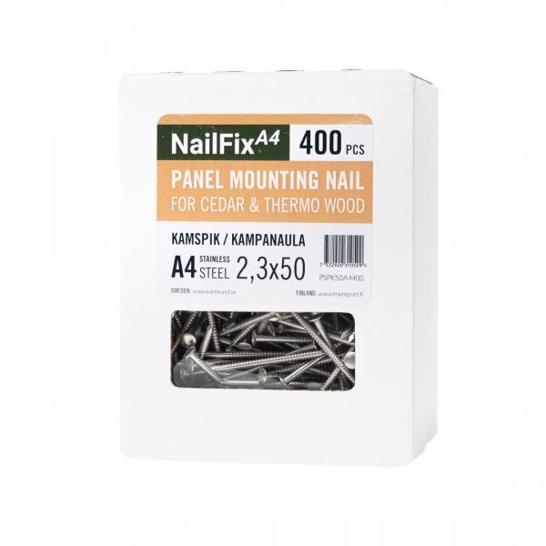 NailFix rostfri syrafast A4 kamspik - Kustens Trä